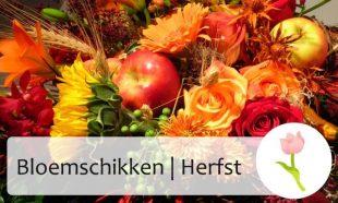 bloemschikken herfst