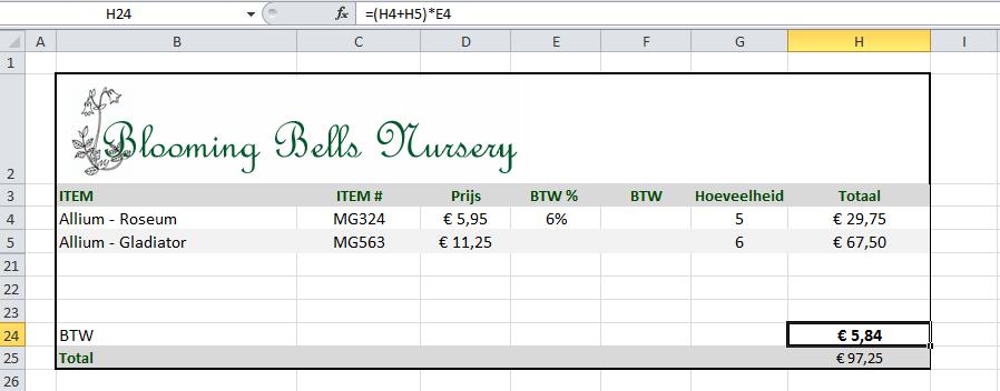 BTW_Berekenen_-_Excel_2010
