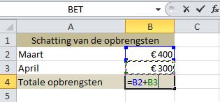 Cellen_optellen_in_Excel_met_celverwijzing