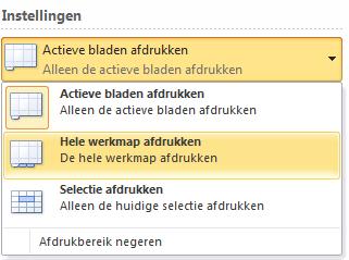 Excel_-_Hele_werkmap_afdrukken