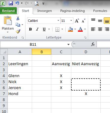 Excel_2010_Knippen_en_Plakken