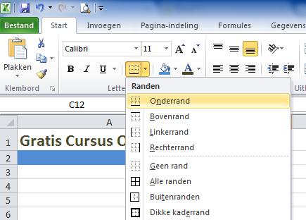 Excel_2010_rand_toevoegen