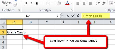 Excel_2010_tekst_in_cel_en_formulebalk