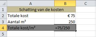 Getallen_delen_in_Excel