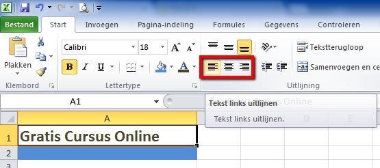 Tekst_uitlijnen_Excel_2010