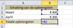 celverwijzing_-_optellen_in_Excel