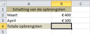 getallen_optellen_in_Excel