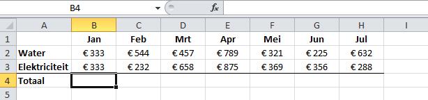 optellen_in_Excel_-_Celverwijzingen